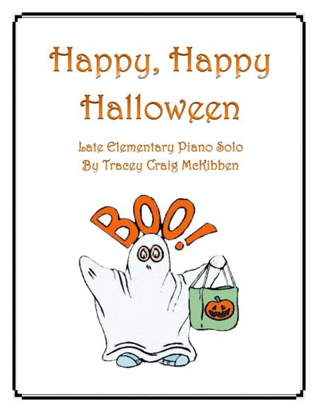 Happy Happy Halloween! (Piano Solo)