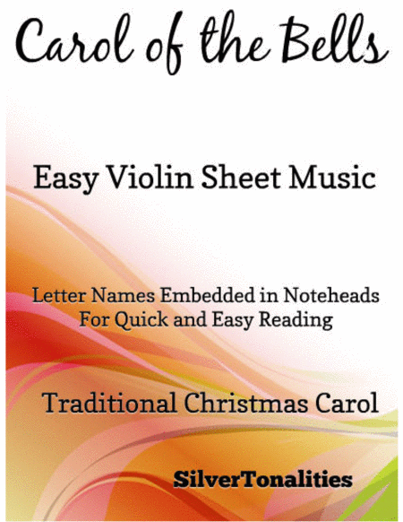 Carol of the Bells Easy Violin Sheet Music