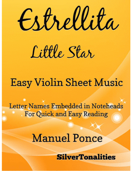 Estrellita Little Star Easy Violin Sheet Music