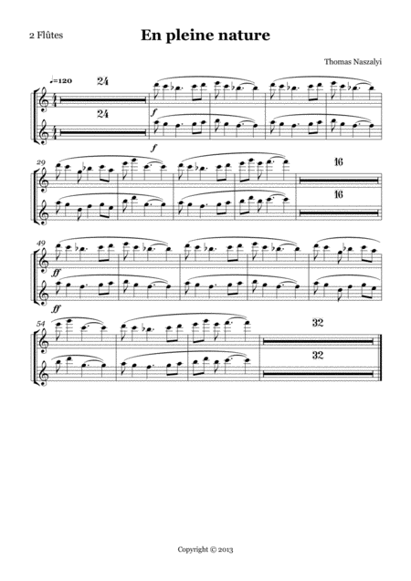 En Pleine Nature/Flute PART