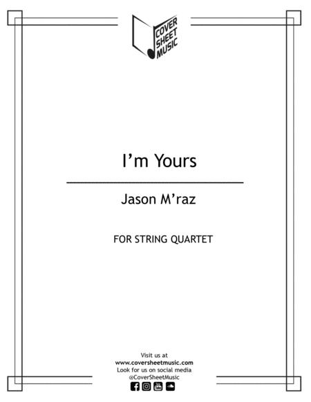 I'm Yours String Quartet