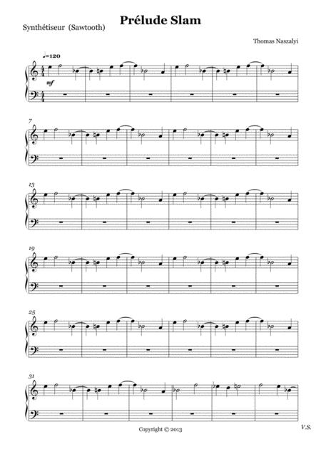Prélude Slam/Synthesizer 2 PART