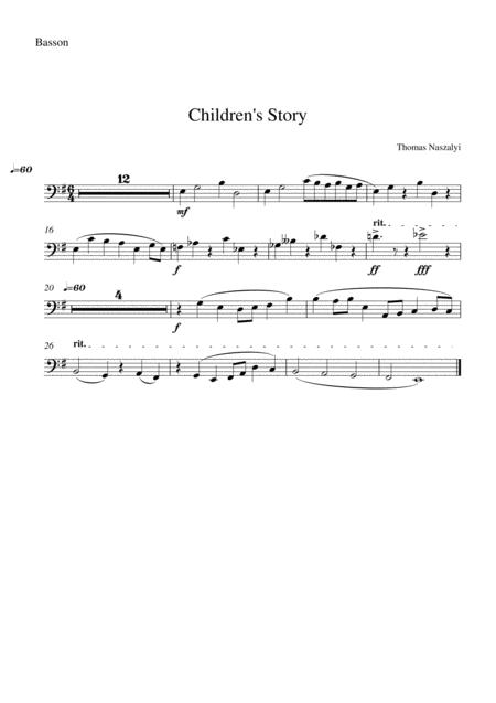 Children's Story/Bassoon PART