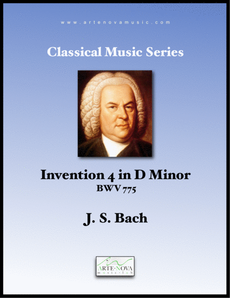 Invention 4 in D Minor BWV 775