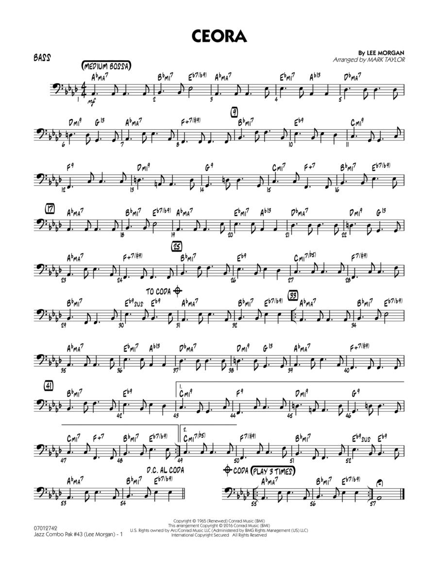 Jazz Combo Pak #43 (Lee Morgan) - Bass