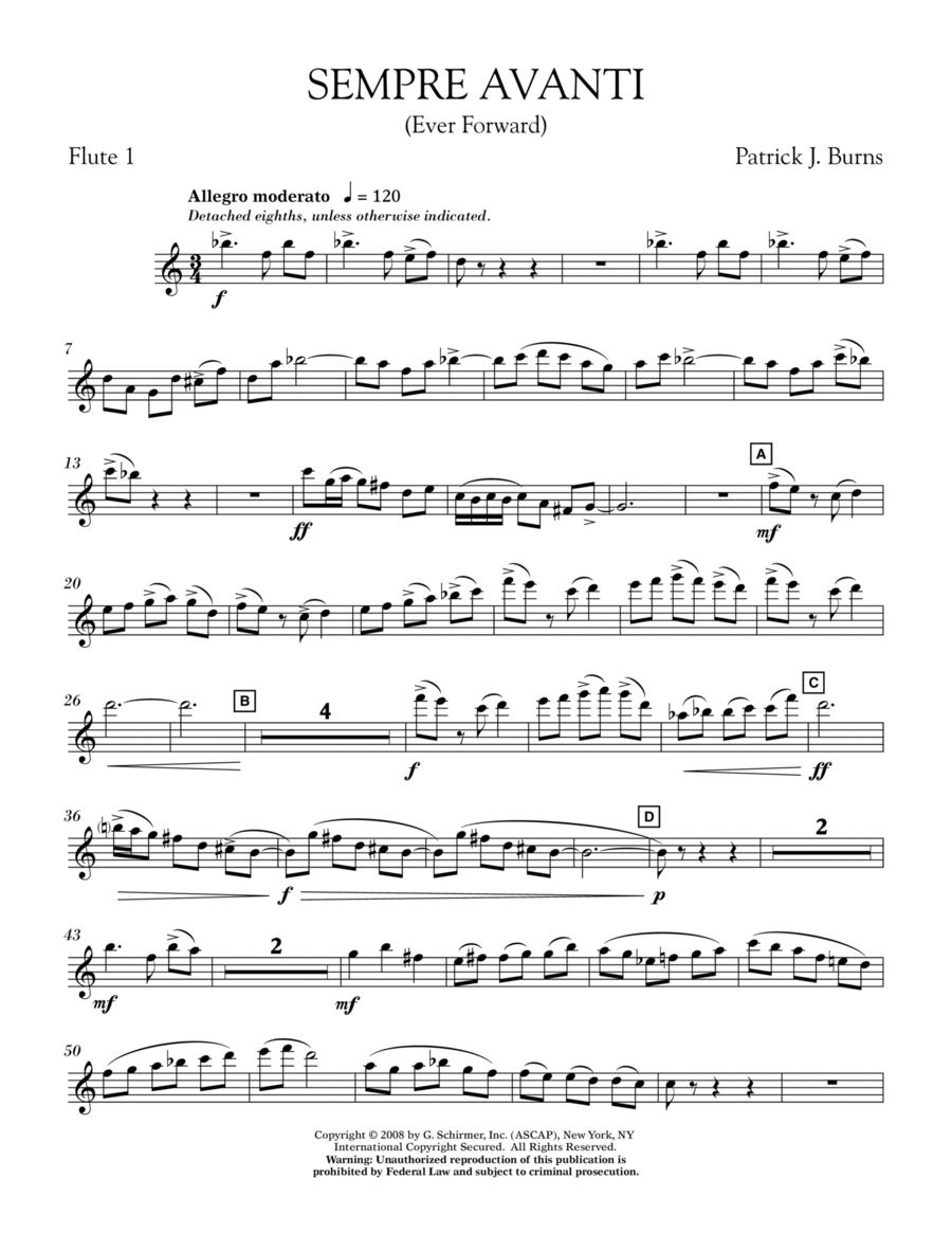 Sempre Avanti - Flute 1