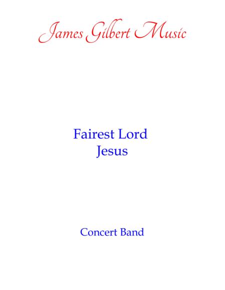 Fairest Lord Jesus (ST ELIZABETH)