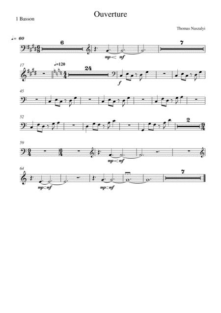 Ouverture/Bassoon PART