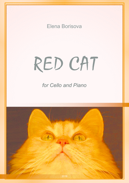 Red Cat for cello & piano
