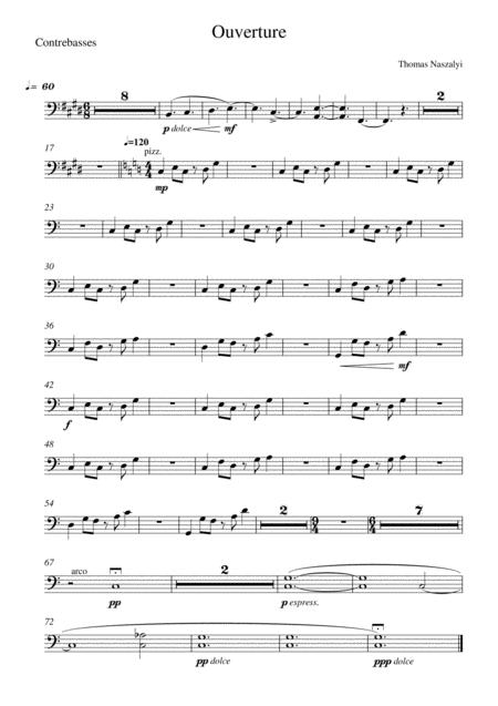 Ouverture/Double Bass PART