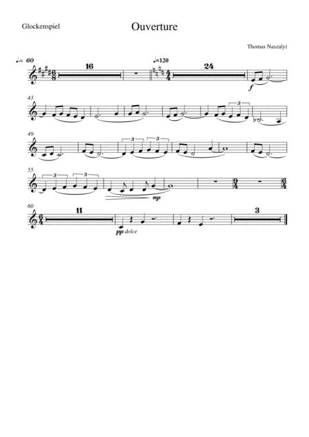 Ouverture/Glockenspiel PART