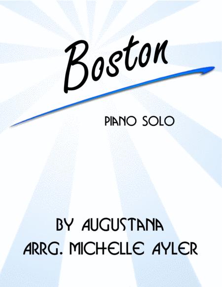 Boston (Easy Piano)