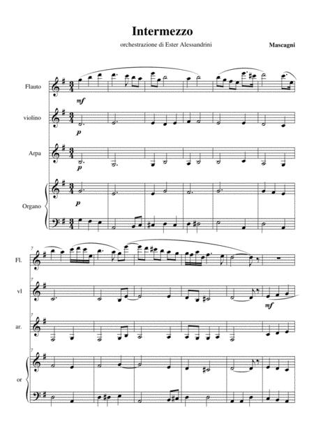 Intermezzo da Cavalleria Rusticana