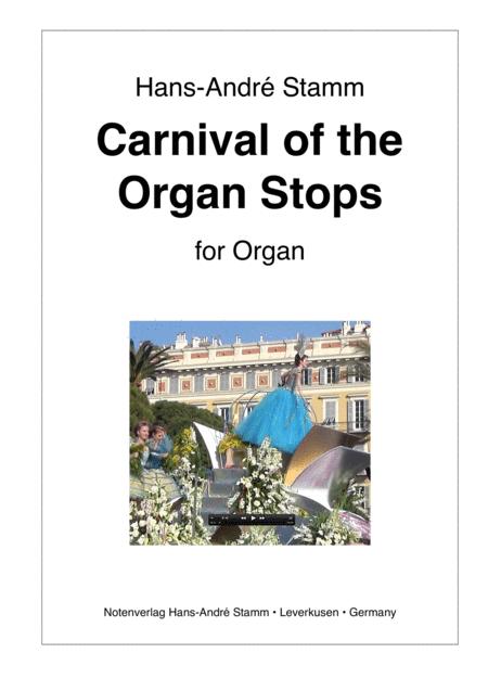 Carnival of the Organ Stops for organ