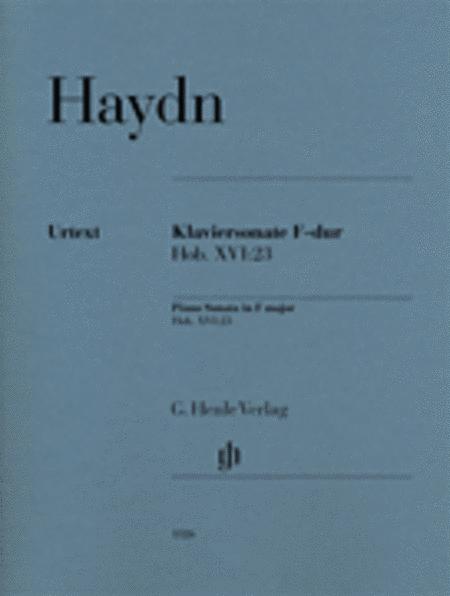 Piano Sonata in F Major, Hob. XVI:23
