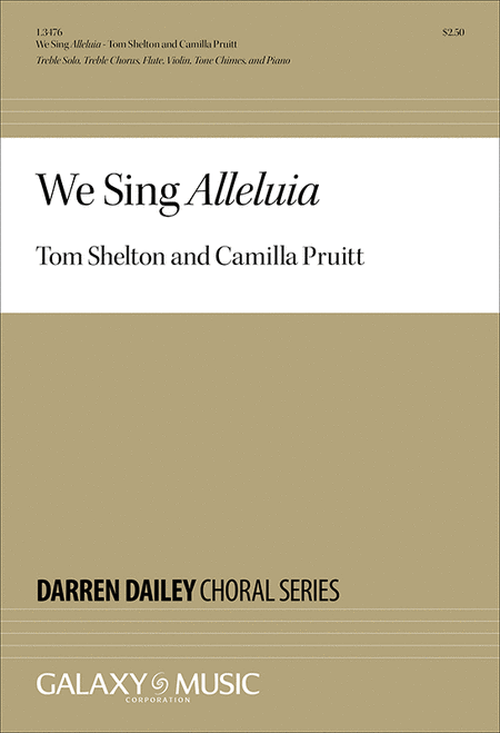 We Sing Alleluia (Choral Score)