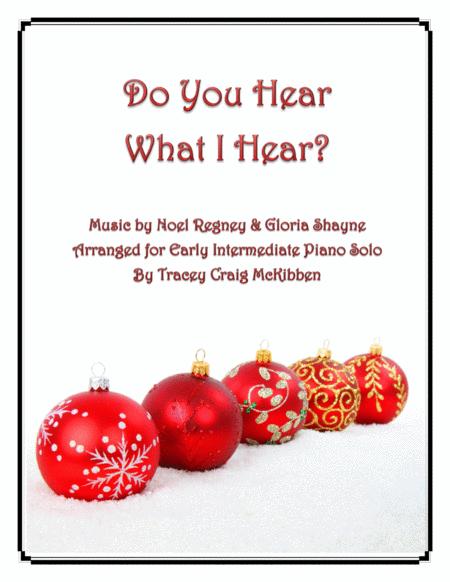 Do You Hear What I Hear (Piano Solo)