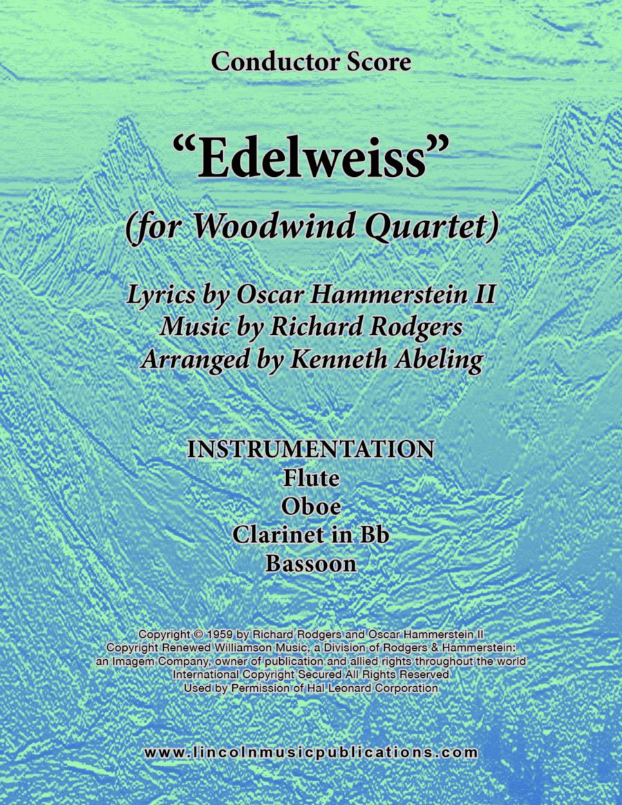 Edelweiss (for Woodwind Quartet)