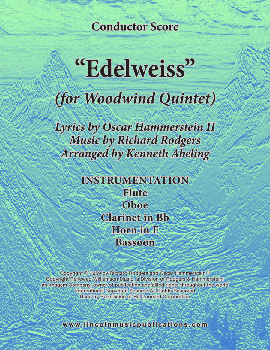 Edelweiss (for Woodwind Quintet)