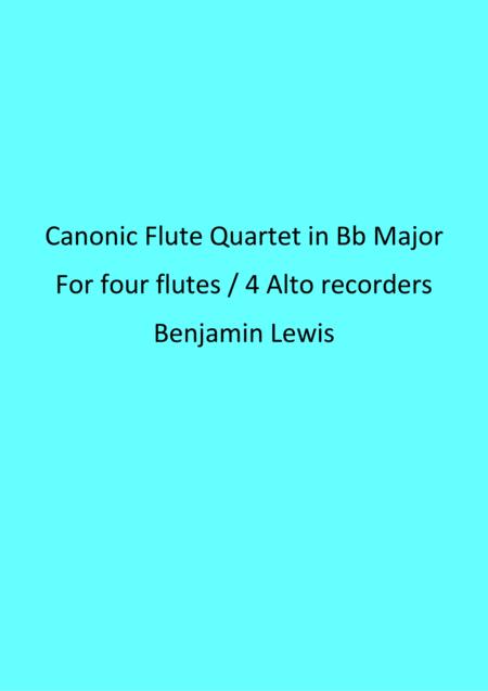 Canonic Flute Quartet