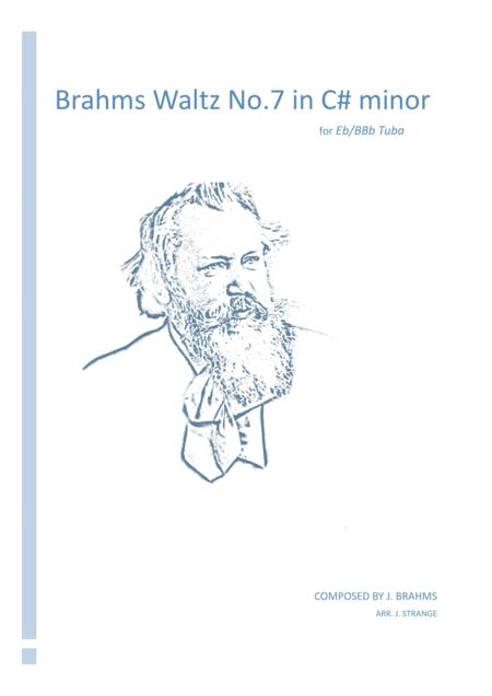 Brahms Waltz in C# minor for unaccompanied Tuba