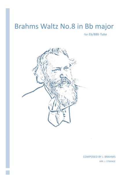 Brahms Waltz in Bb Major for unaccompanied Tuba