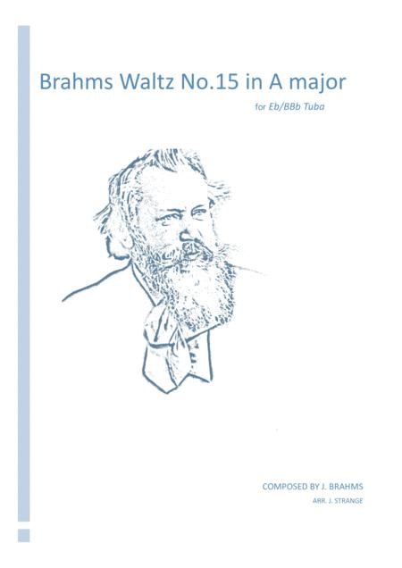 Brahms Waltz in A Major for unaccompanied Tuba