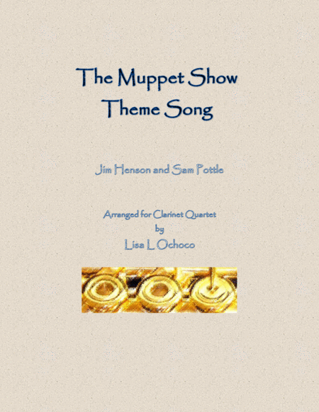 The Muppet Show Theme for Clarinet Quartet