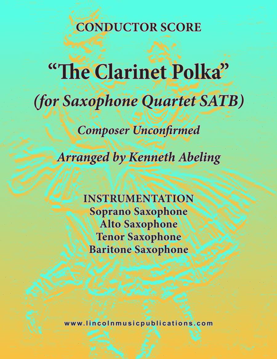 Clarinet Polka (for Saxophone Quartet SATB)