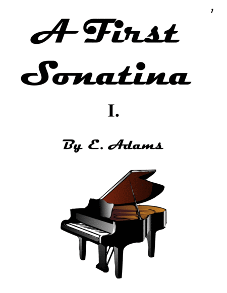A First Sonatina - 1st Movement