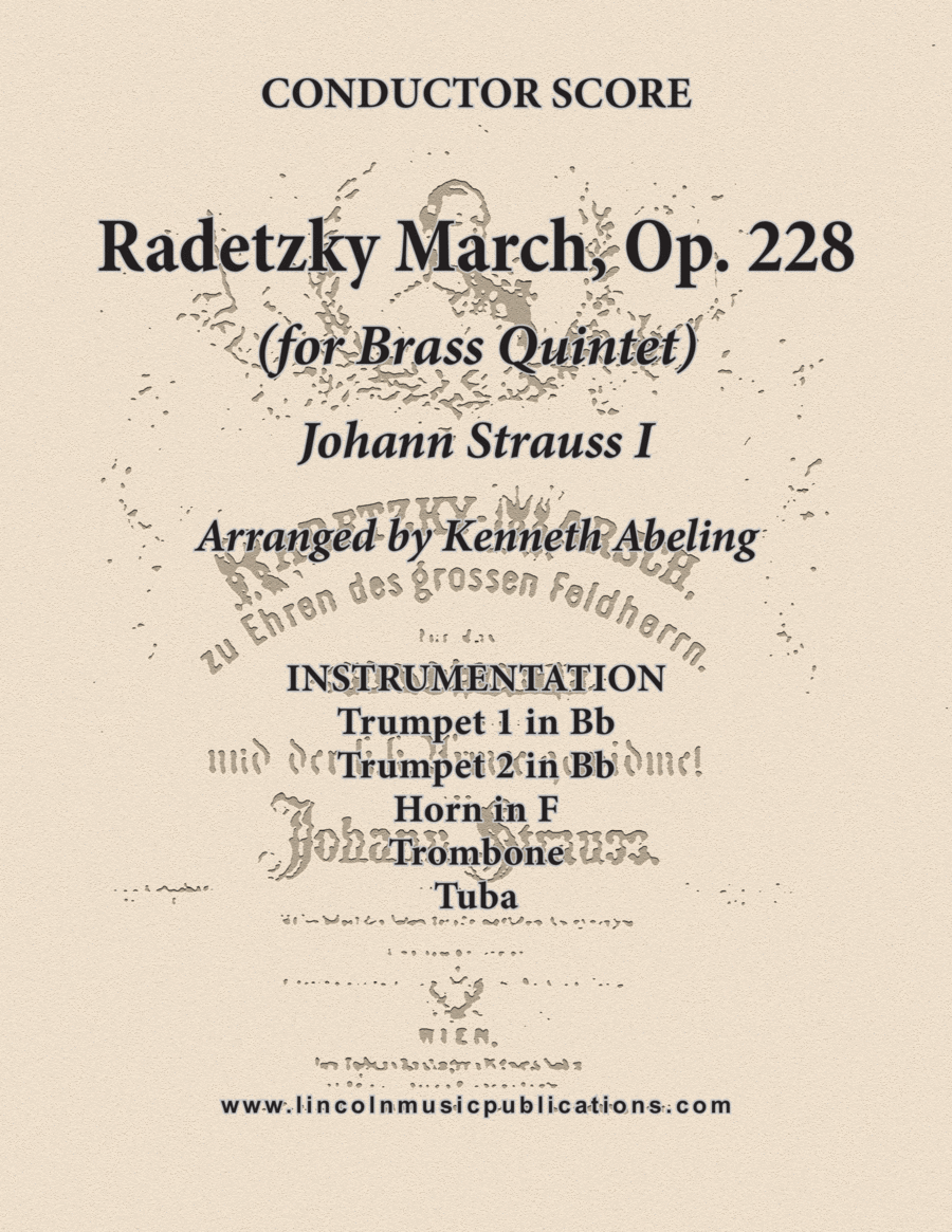 Radetzky March (for Brass Quintet)