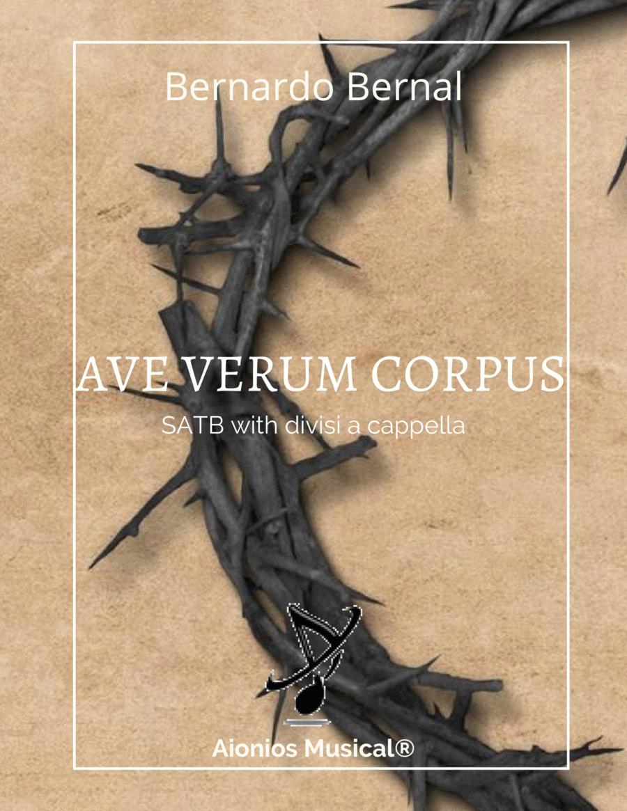 Ave Verum Corpus - SATB with divisi a capella