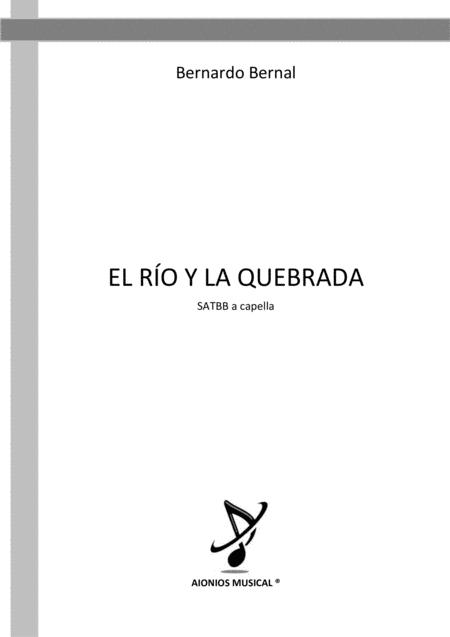 El Río y La Quebrada - SATBB a capella