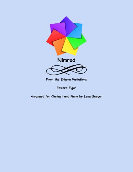 Nimrod (Clarinet and Piano)