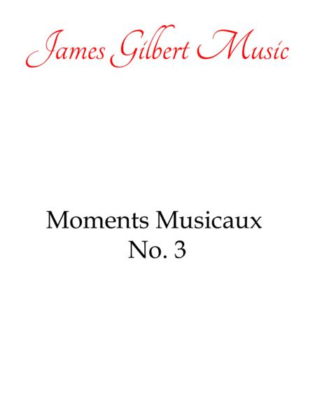 Moments Musicaux No. 3