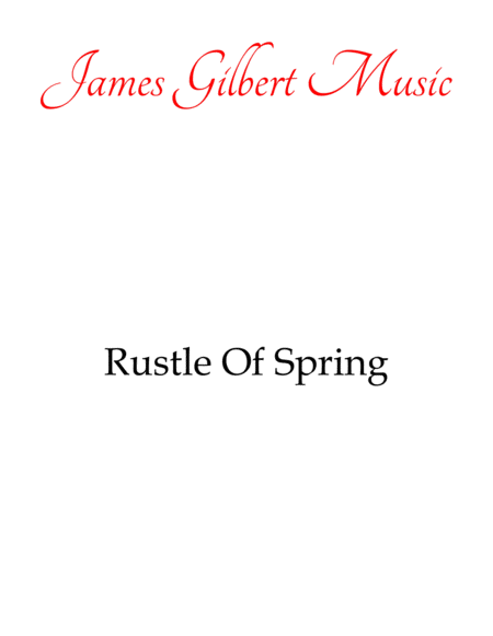 Rustle Of Spring