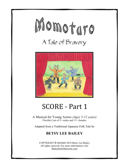 Momotaro, A Tale of Bravery - Score Part 1