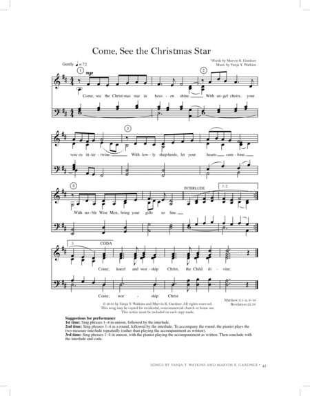 Come, See the Christmas Star