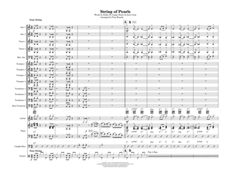 A String Of Pearls - Jazz Ensemble