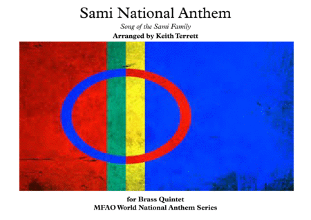 Sami National Anthem (''Sámi soga lávlla'') for Brass Quintet