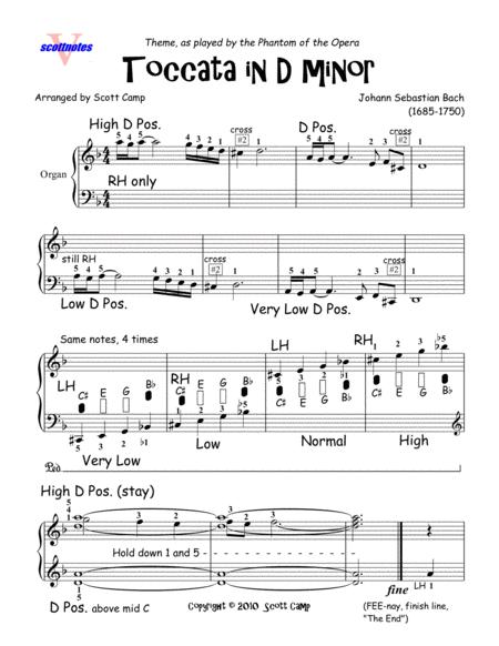 Toccata in D minor (Theme)