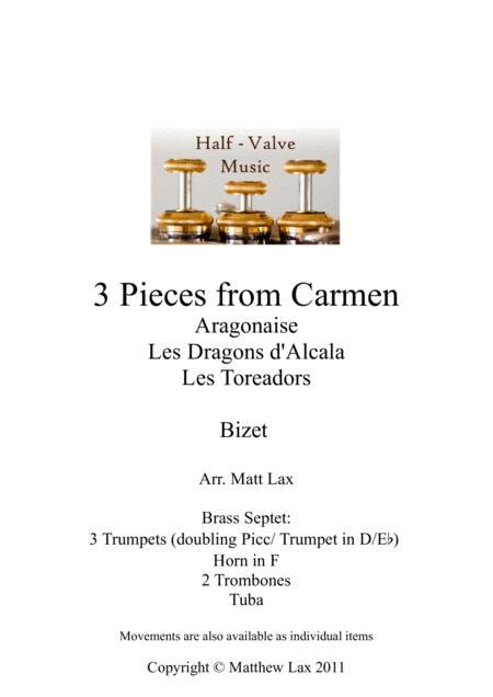 3 Pieces from Bizet's Carmen