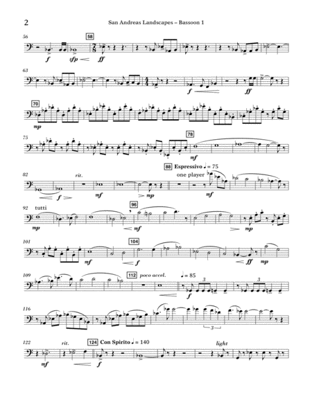 San Andreas Landscapes - Bassoon 1