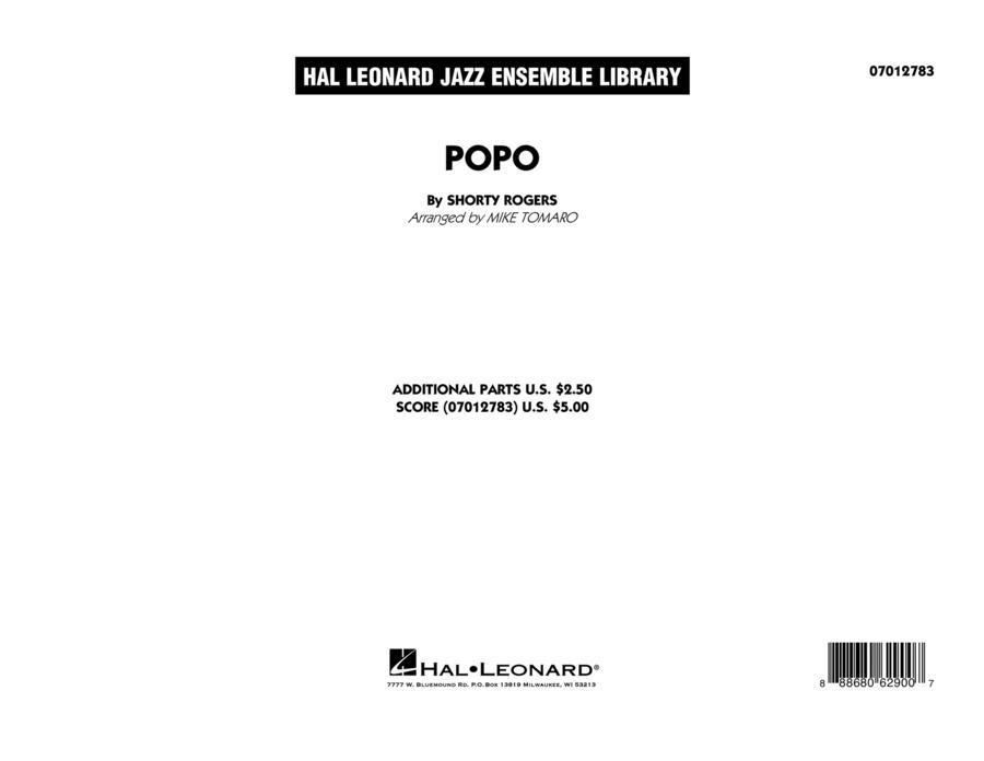Popo - Conductor Score (Full Score)