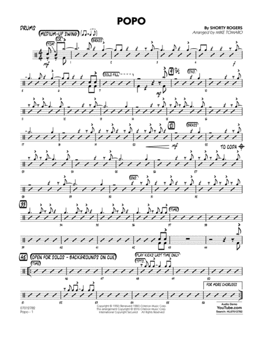 Popo - Drums