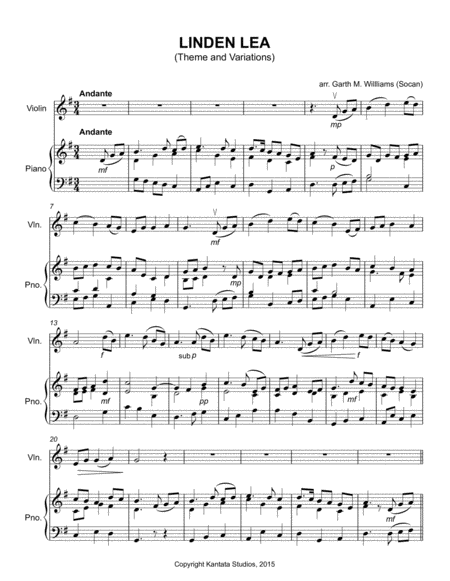 Variations on the Folk Tune