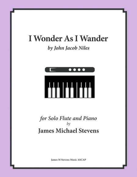 I Wonder As I Wander (Flute & Piano)