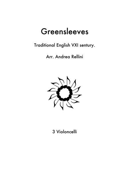 Greensleeves (Cello Trio)
