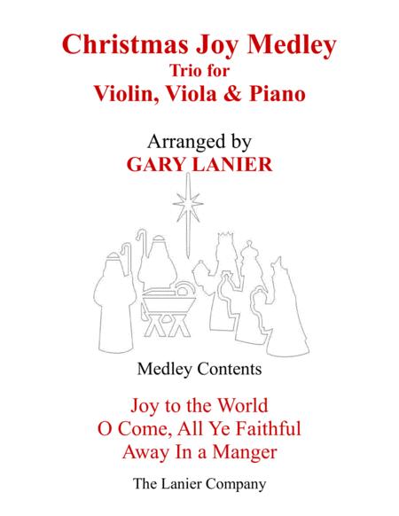 CHRISTMAS JOY MEDLEY (Trio – Violin, Viola & Piano with Parts)