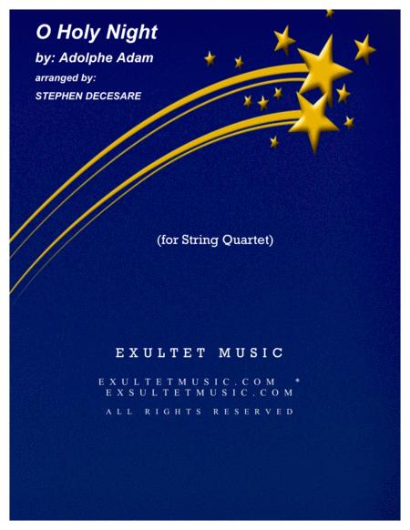 O Holy Night (for String Quartet)